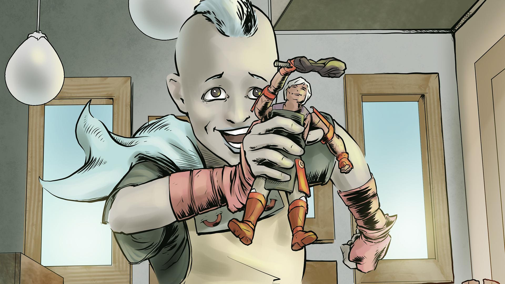 Thumbnail for Kun-ghur: Kuma's Hero